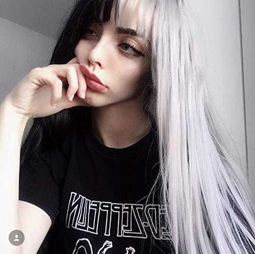 Yin Yang, pelucas blancas negras, hombres mujeres