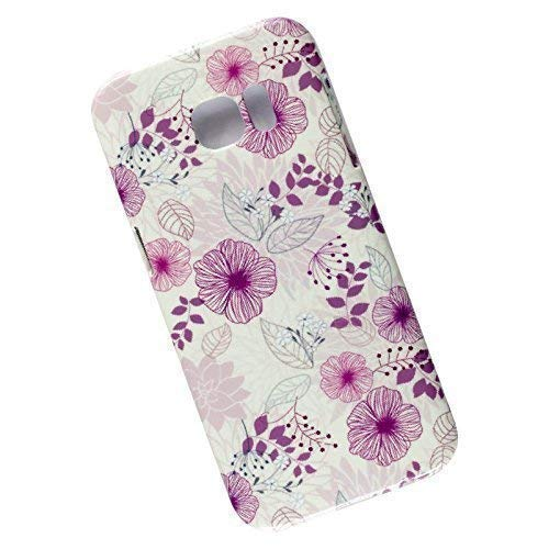 Slim Case for Samsung Galaxy S7 Edge. Tasche Cover. Floral Pettern. -