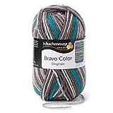Schachenmayr Hilo para Bordar y Tejer, Color 9801421 Bravo, Lana, Gris Piedra, 15 x 7 x 7 cm