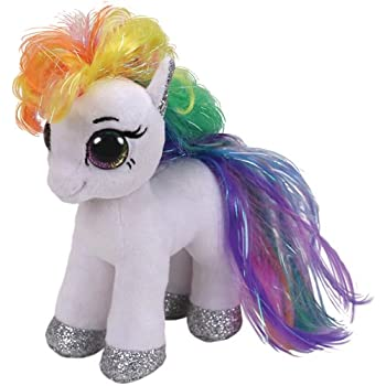 5e61cc5565c Ty Beanie Boo - TY36664 - Starr the Pony 15cm  Amazon.co.uk  Toys ...