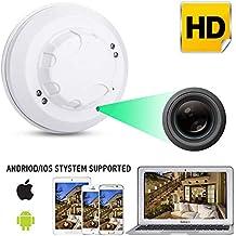 Ocamo WiFi HD 1080P Cámara IP Mini Detector de Humo Detección de Movimiento Nanny ...