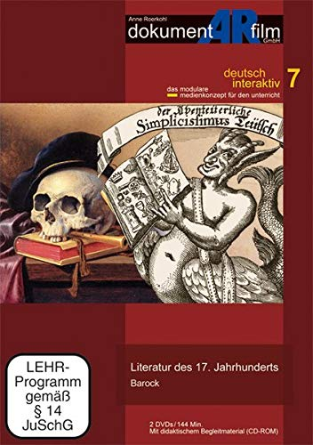 Literatur des 17. Jahrhunderts - Barock, 2 DVDs u. 1 CD-ROM