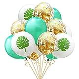 15 Stuks 12 inch Confetti Ballonnen Kleurrijke Golden Folie Confetti voor Verjaardagsfeest Bruiloft Party Decoratie