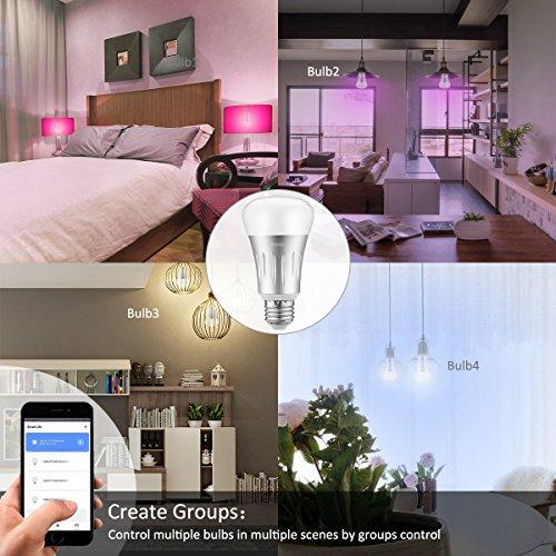- 51tz35e7nNL - Eclairez votre intérieur intelligemment avec la lampe smart Bawoo