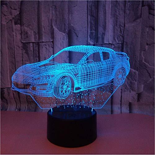 Mmneb Usb Led Schreibtischlampe Neue Art Automotive 3D LampeWish Source 3DNachttischModerne Schreibtischlampe - Automotive Computer-speicher