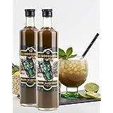 RISKA - Piña Colada Licor sin alcohol 1 Litro: Amazon.es ...