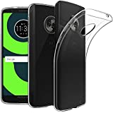 ELICA Exclusive for Moto G6-2018 - Back Cover Transparent Clear Crystal Thin Soft Case - Crystal View for Moto G6-2018