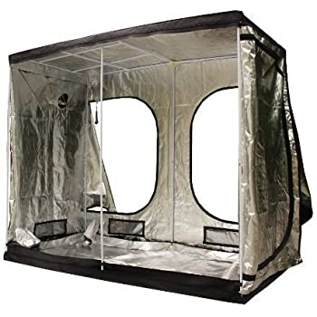 FoxHunter New Design Quality Portable Grow Tent Silver Mylar Green Room Hydroponic Bud Room Dark Room  sc 1 st  Amazon UK & FoxHunter New Design Quality Portable Grow Tent Silver Mylar Green ...