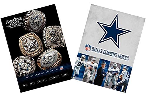 Ultimate NFL Dallas Cowboys America's Team DVD Collection: America's Game Dallas Cowboys / Dallas Cowboys Heroes (7-Disc Set)