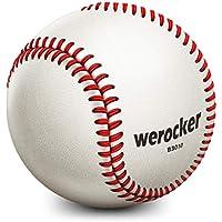 SZRHY Pelota de Beisbol para Jugar, competir, Entrenar 9 Pulgadas Blanco