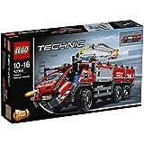 LEGO - 42068 - Lego Technic - Jeu de Construction - Le Véhicule de Secours de l'Aéroport