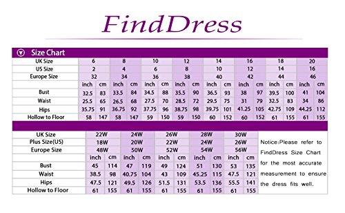 Find Dress Femme Elégant Robe de Soirée/Cérémonie/Cocktail Mariage Courte en Dentelle Marine Foncé