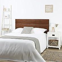 hame tte de lit 150160 teck sablage bois 162x4x101 cm couleur - Tete De Lit En Bois