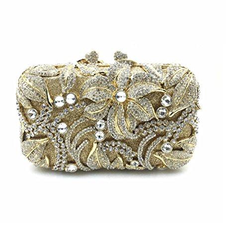 L'Europe et les États-Unis à la main de mode de luxe Diamond Forfait Dîner soir Sacs à main Sac,UN