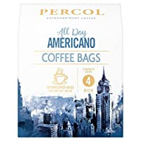 Percol Fairtrade Decaf Colombia Ground Coffee, 200 g, Pack of 6