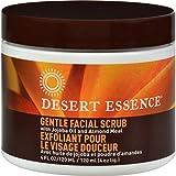 Desert Essence Gommage doux et stimulant pour le visage à l'huile essentielle de Jojoba et à l'amande douce 120 ml