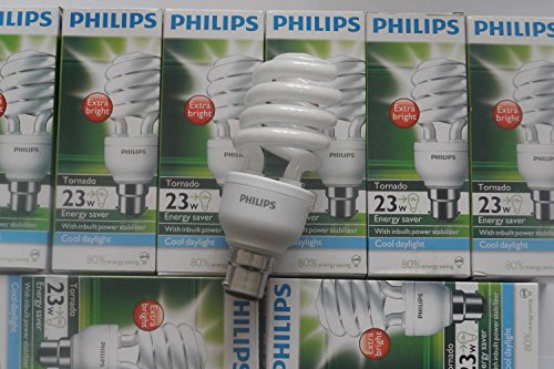 6-x-genuine-philips-tornado-compact-fluorescent-spiral-23w-b22-cap-cool-daylight6500k-special-offer