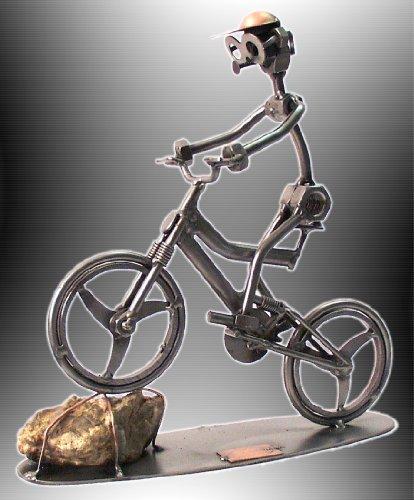 Boystoys HK Design - Schraubenmännchen BMX & Mountainbike - Metall Art Geschenkideen Deko Skulptur Sport & Freizeit - hochwertige Original Figuren handgefertigt