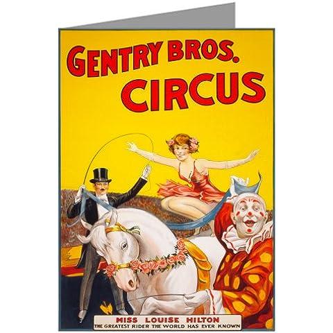Circo Bareback il cavaliere signorina Louise Hilton