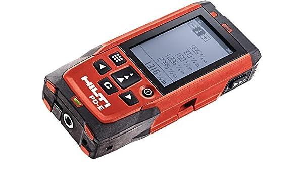 Hilti Entfernungsmesser Pd E Preis : Hilti pd e laser distanzmessgerät mit soft case amazon