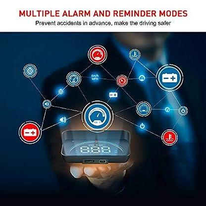 OurLeeme-Car-HUD-Head-Up-Display-35Full-HD-OBD2-Tachometer-Alarm-Geschwindigkeitswarnsystem-Projektor-Auto-Voltage-Alarm-Plug-and-Play