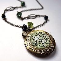 Geheime Halskette, der Spiralbaum