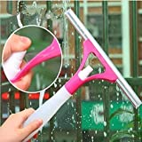 Spray Type Cleaning Brush Glass Wiper Window Clean Shave Car Window Cleaner Brush, (Multicolor)