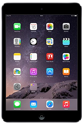 Apple iPad mini 2 20,1 cm (7,9 Zoll) Tablet-PC (WiFi, 16GB Speicher) schwarz (2 Schwarz Ipad 16gb)