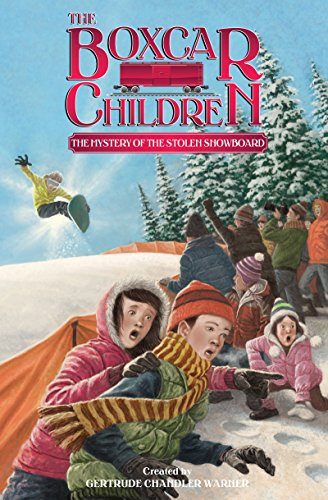 The Mystery of the Stolen Snowboard (The Boxcar Children Mysteries Book 134) (English Edition)