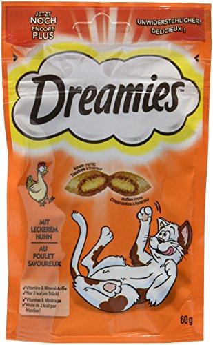 Dreamies Katzensnacks Huhn, 6 Packungen (6 x 60 g)