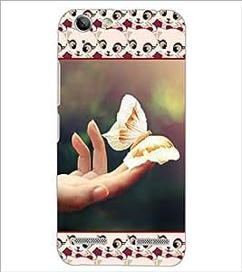 PrintDhaba Butterfly D-5103 Back Case Cover for LENOVO VIBE K5 PLUS (Multi-Coloured)