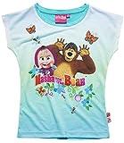 Mascha und der Bär Mädchen T-Shirt - türkis - 134