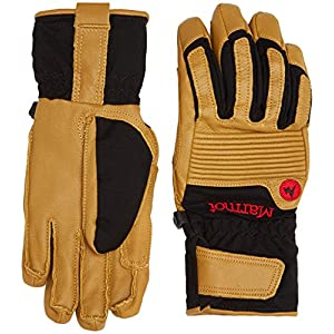 51tzGWh i0L. SS300  - Marmot Exum Guide Undercuff Gloves, Men, Technical Ski Gloves