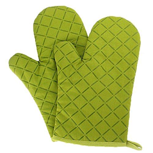 Panegy Hitzebeständig Ofenhandschuhe Anti-Rutsch Küche Backofen Handschuhe