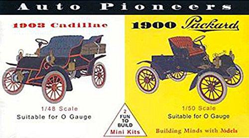 glencoe-models-148-scale-auto-pioneers-1903-cadillac-1900-packard