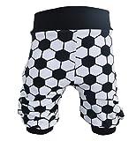 Pumphose,Babyhose,Kinderhose Fußball schwarz-weiß von NEJA Design (86/92)