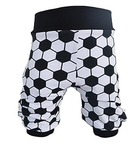 Pumphose,Babyhose,Kinderhose Fußball schwarz-weiß von NEJA Design