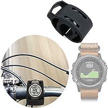 DURAGADGET Soporte Para Smartwatch Garmin Fénix 3 / HR / Leather / Nylon / Titanium Para Manillar De Bicicletas