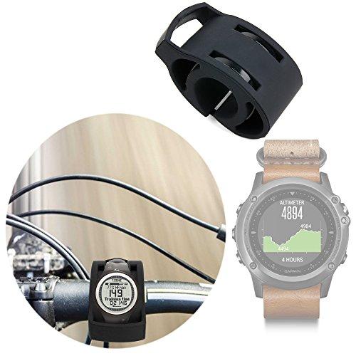 DURAGADGET Soporte para Smartwatch Garmin Fénix 3 / HR/Leather/Nylon/Titanium para Manillar De Bicicletas...