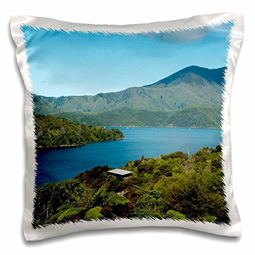 Danita Delimont - New Zealand - New Zealand, South Island, Marlborough Sounds - AU02 LFO0117 - Lee Foster - 16x16 inch Pillow Case (pc_133985_1)
