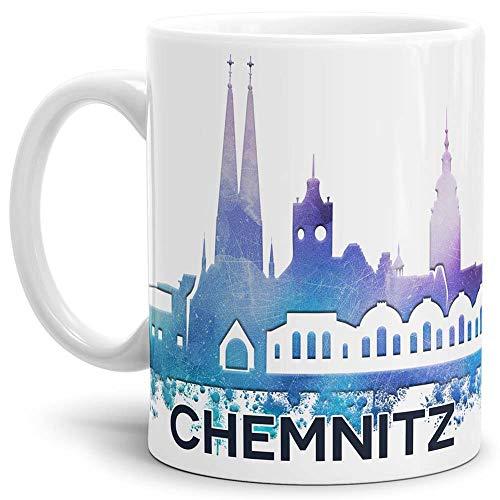 Tassendruck Chemnitz-Tasse Skyline - Kaffeetasse/Mug/Cup - Qualität Made in Germany