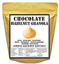 Jimmy's Gourmet Kitchen | Granola Cereals Chocolate Hazelnut | Buy 1 kg get 1 kg Free | Vegan Gluten Free | Maple Syrup