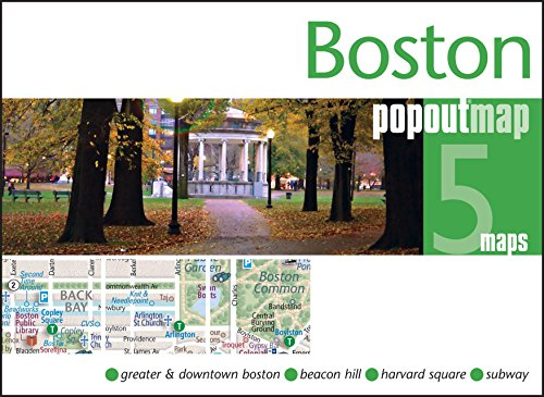 Boston PopOut Map (Popout Maps)