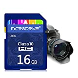 H&T SD-Karte, 4K Ultra-HD-Video Premium-Hochgeschwindigkeitsspeicher SDHC Bis Zu 100 MB/S V30 UHS-I C10,16gb