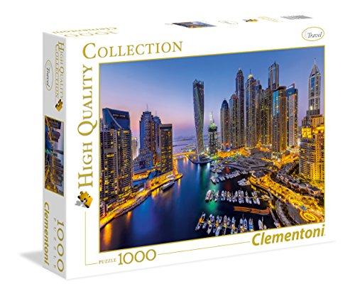 Clementoni- dubai high quality collection puzzle, 1000 pezzi, 39381