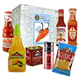 Monsterzeug Box mit Gewürzen, Scharfe Gewürzmüttel, Pikante Soßen, Hot and spicy Pulver, Würzige Geschenkbox, Spice up your life