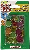 Kim'Play - Grands Classiques - 100 Pions Marque Loto Magnetiques
