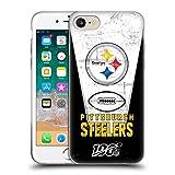 Head Case Designs Offizielle NFL Banner 100ste 2019/20 Pittsburgh Steelers Soft Gel Huelle kompatibel mit iPhone 7 / iPhone 8
