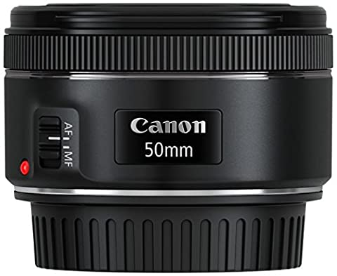 Canon EF 50mm 1:1.8 STM Objektiv (49mm Filterdurchmesser) schwarz