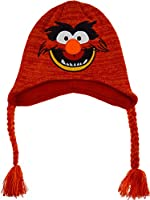 Boys The Muppets Animal Knitted Beanie Winter Hat